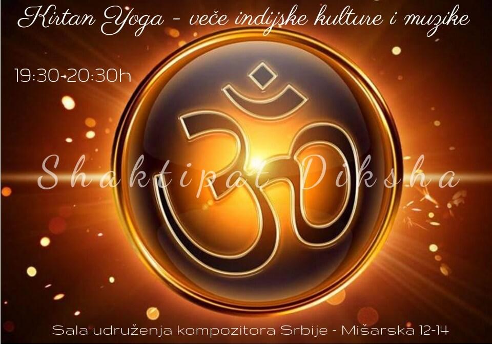 Kirtan yoga event