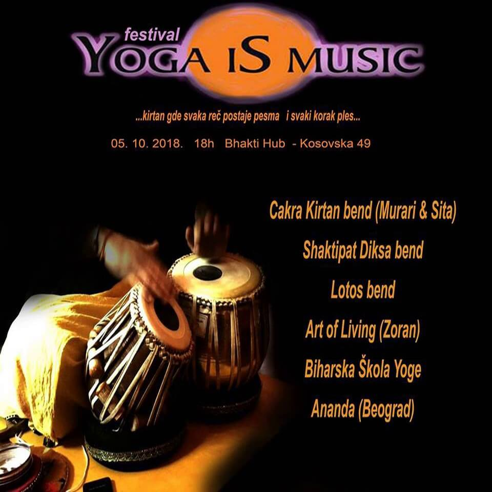 yoga is music oktobar